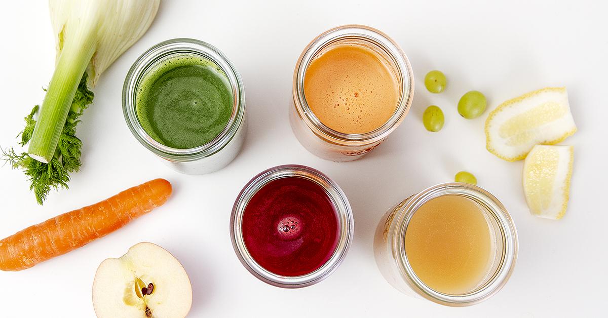 Friskpresset juice