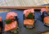 Low carb sushi med laks