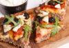 Meatza med soltørrede tomater, oliven og artiskok
