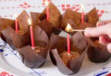 Sukkerfri kokosmuffins