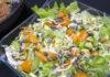 Spidskålssalat med avocado og abrikos