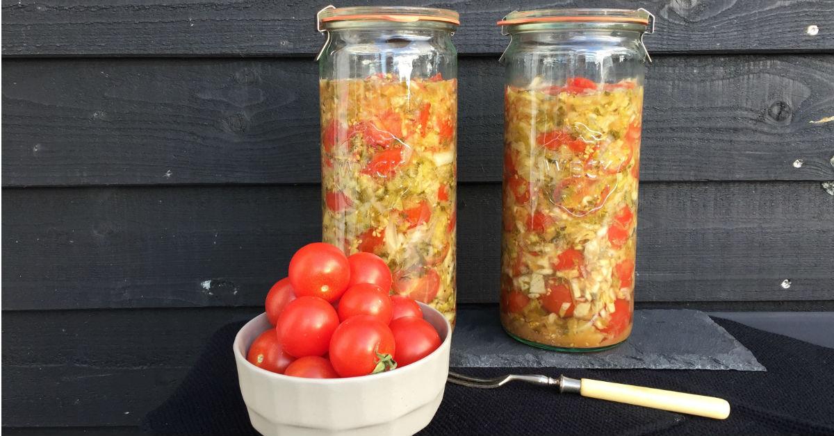 Fermenterede tomater