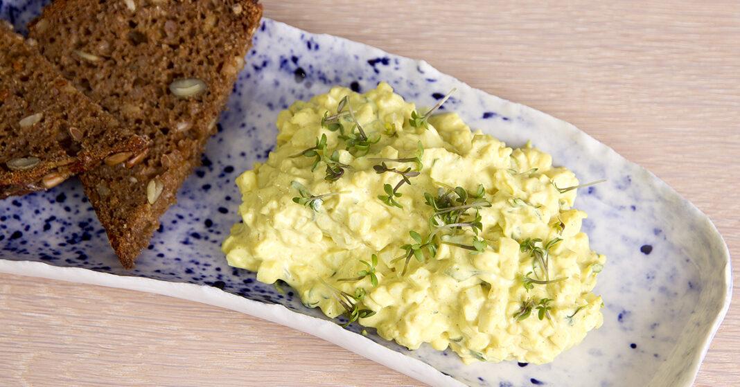 Æggesalat med karse