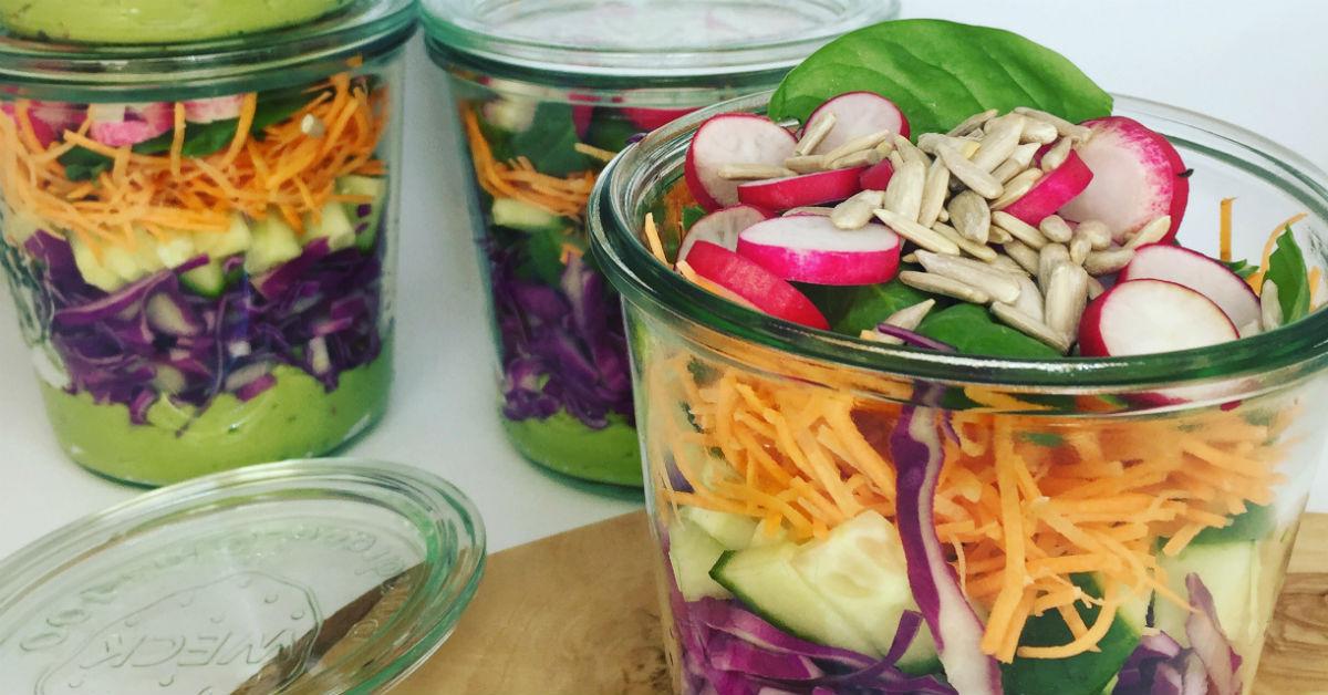 foodprep din salat