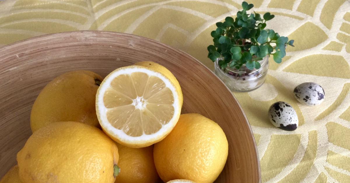 Citron til rejesalat