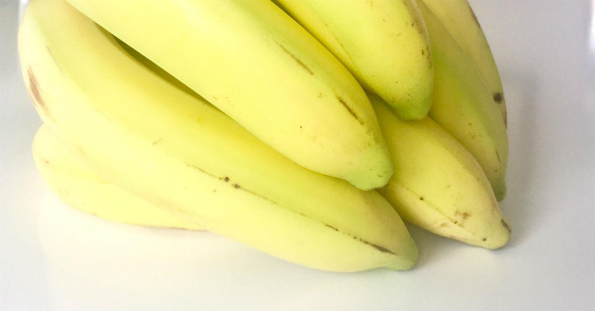 Bananer til proteinrigt bananbrød med peanutbutter