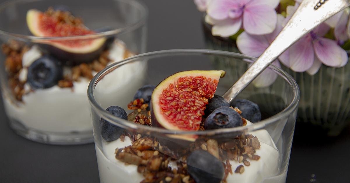 Yoghurt med granola
