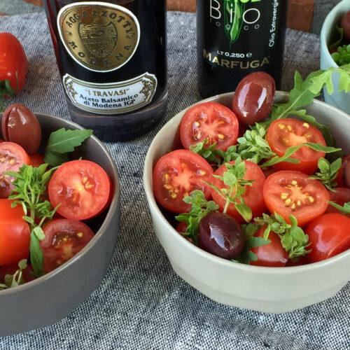 Tomatsalat med balsamico