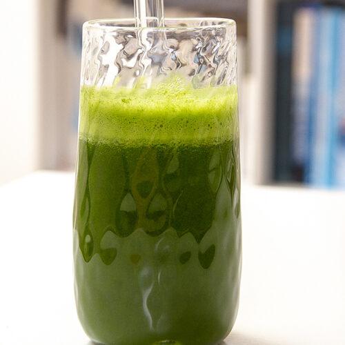 Grøn booster med spinat