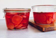 Lynsyltede radiser uden sukker